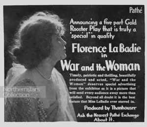 Florence LaBadie, actress,