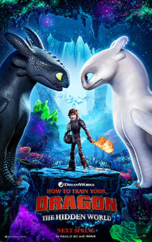 How to Train Your Dragon 3, movie, poster,