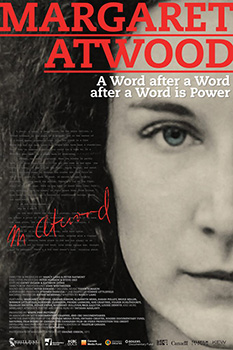Margaret Atwood A Word After A Word After A Word Is Power, movie, poster,