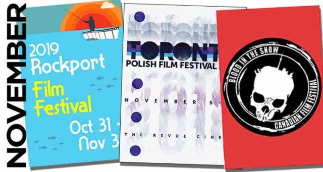 November 2019 Film Festivals, image,