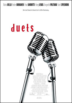 Duets, movie, poster,