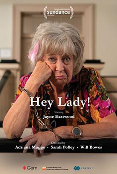 Het Lady!, poster, Jayne Eastwood,