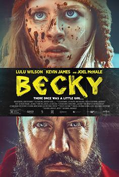 Becky, movie, poster,