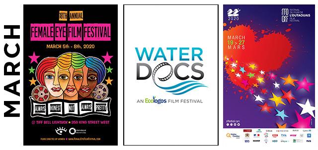 March 2020 Film, Festivals, image,