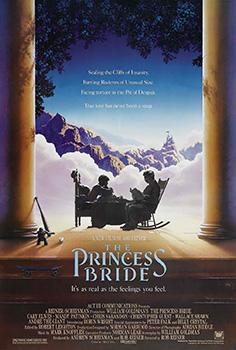 he Princess Bride, movie, poster,