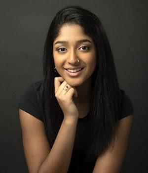 Maitreyi Ramakrishnan, actress,