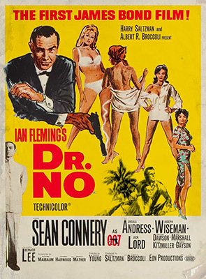 Dr. No, movie, poster,