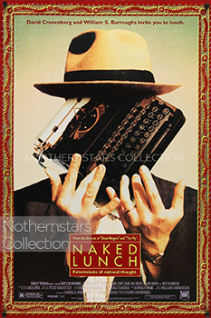 Naked Lunch, movie, poster,