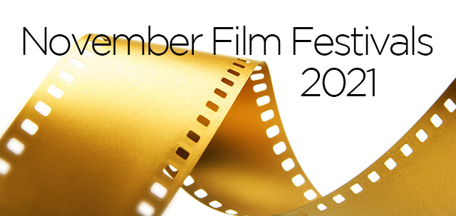 November 2021 Film Festivals, image,
