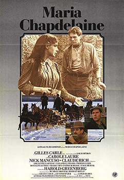 Maria Chapdelaine, movie, poster,