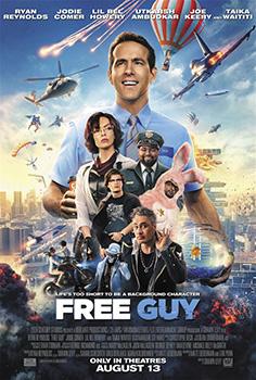 Free Guy, movie, poster,