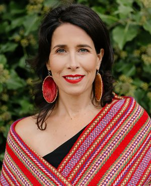 Andrea Menard, actress,