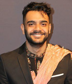 Hamza Haq, ator,