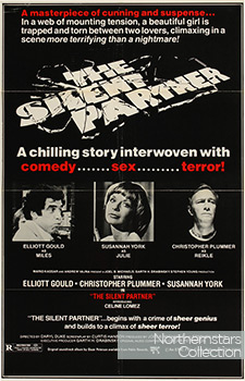 The Silent Partner, movie, poster,