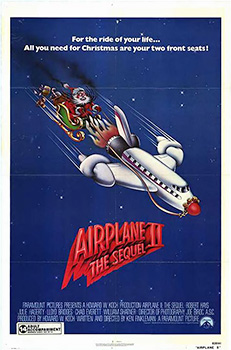 Airplane II: The Sequel, movie, poster,