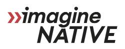 imagineNATIVE  logo, image,
