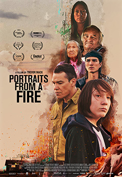 Portraits From a Fire, movie, poster,