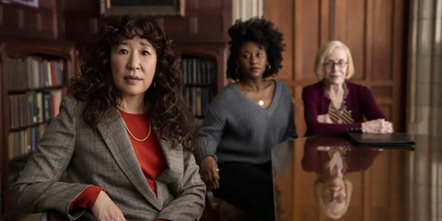 Sandra Oh Stars in The Chair, image,