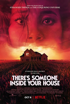 There's Someone Inside Your House, movie, poster,