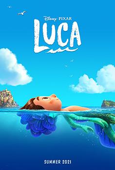 Luca, Jacob Tremblay, movie, poster,