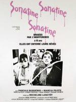 Sonatine, movie, poster,