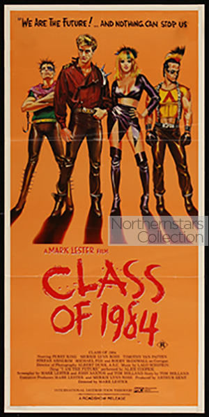 Class of 1984, movie, poster,